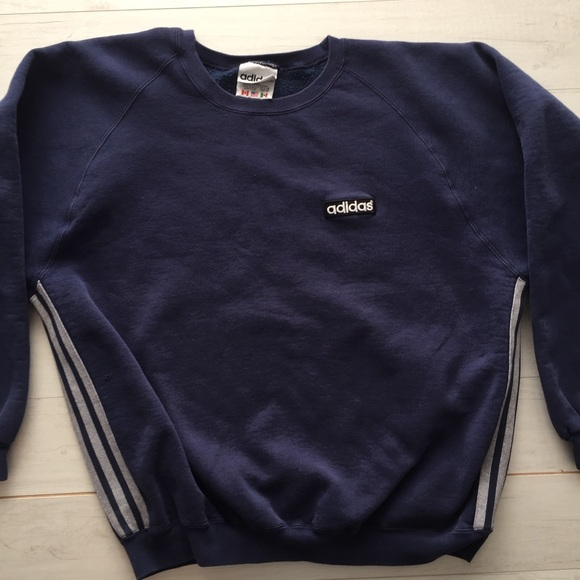 c80b68c7d adidas Tops | Vtg 90s Women Sweatshirt Logo Made In Usa | Poshmark
